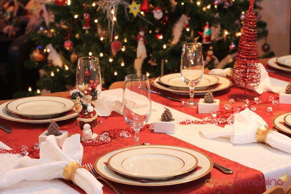 Mantelería para eventos navideños