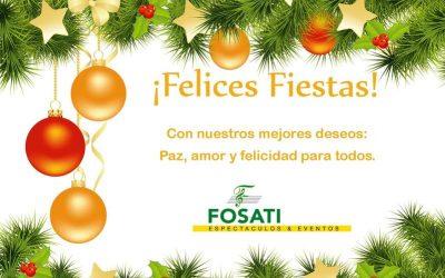 Feliz Navidad y Felices Fiestas