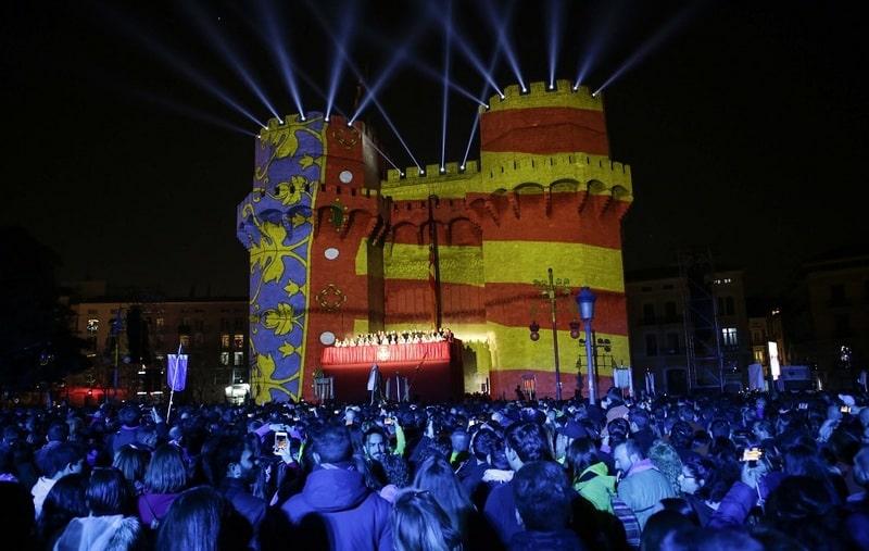 Las Fallas, la mayor representación de Valencia